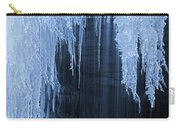 Winter Blues - Frozen Waterfall Detail Carry-all Pouch