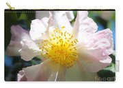 Winter Camellia Carry-all Pouch