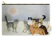 Winter Cats Carry-all Pouch by Ditz