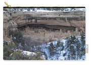 Winter Cliff Palace Carry-all Pouch