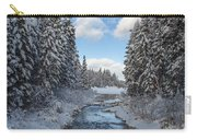 Winter Creek Carry-all Pouch by Fran Riley