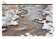 Winter Creek Scenic View Carry-all Pouch