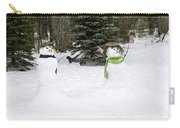 Winter Dance Of The Snow People Carry-all Pouch