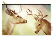 Winter Deer Carry-all Pouch