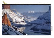 612702-winter Desert River, Ut Carry-all Pouch