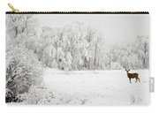 Winter Doe Carry-all Pouch by Mary Jo Allen