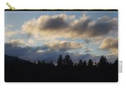 Winter Eve In The Applegate Valley Carry-all Pouch