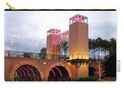 Winter Evening Lights On The Woodlands Waterway Carry-all Pouch