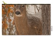 Winter Fawn Carry-all Pouch