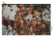 Winter Fern Carry-all Pouch