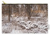 Winter Forest Panorama Carry-all Pouch by Elena Elisseeva