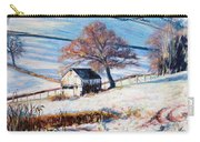 Winter Frost Carry-all Pouch by Tilly Willis