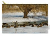 Winter Geese - 01 Carry-all Pouch