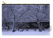 Winter Geese Retreat Carry-all Pouch