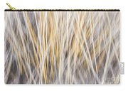 Winter Grass Abstract Carry-all Pouch by Elena Elisseeva