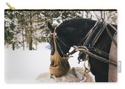 Winter Horse Carry-all Pouch