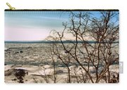 Winter Ice On Lake Michigan Carry-all Pouch