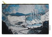 Winter In Ancient Ruins Carry-all Pouch