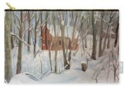 Winter In Campton New Hampshire Carry-all Pouch