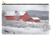 Winter In Connecticut Square Carry-all Pouch