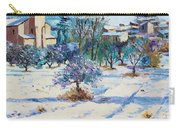 Winter In Lourmarin Carry-all Pouch