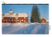 Winter In New England, Mountain View Carry-all Pouch