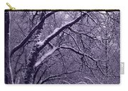Winter In Purple Carry-all Pouch