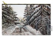 Winter In The Boons Carry-all Pouch by Shana Rowe Jackson