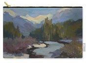 Winter In The Cascade Mountains Carry-all Pouch