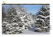 Winter In The Pines Carry-all Pouch