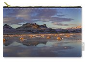 Winter In The Salt Flats Carry-all Pouch