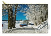 Winter In Vermont Carry-all Pouch