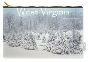 Winter In West Virginia Carry-all Pouch