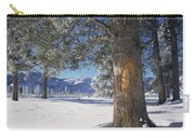 Winter In Yellowstone National Park Carry-all Pouch