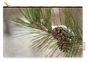 Winter Interlude Carry-all Pouch by Evelina Kremsdorf