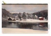 Winter Landscape 1899 Carry-all Pouch