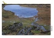 Winter Landscape Detail North Wales Carry-all Pouch