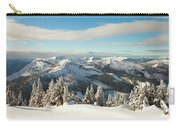 Winter Landscape In British Columbia Carry-all Pouch