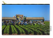 Winter Lettuce Harvest Carry-all Pouch by Robert Bales