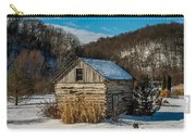 Winter Logcabin Carry-all Pouch