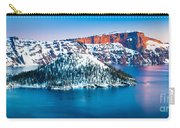 Winter Morning At Crater Lake Carry-all Pouch