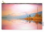 Winter Morning At Okanagan Lake Carry-all Pouch