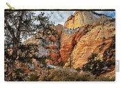 Winter Morning In Zion Carry-all Pouch