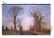 Winter Morning On Calverton Lane Carry-all Pouch