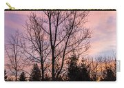 Winter Morning Sky Carry-all Pouch
