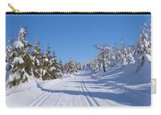 Winter Mountain Landscape  Carry-all Pouch