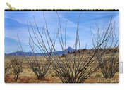 Winter Ocotillo Garden Carry-all Pouch