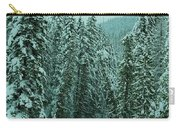 Winter On The American River Carry-all Pouch