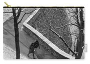 Winter On The Walls Of Bergamo Carry-all Pouch