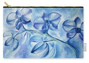 Winter Orchids Carry-all Pouch